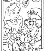 coloriage noel disney 011